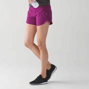 Lululemon tracker short. Fuchsia. Size 10